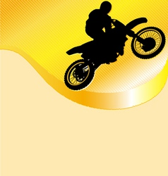 Motorcycle racing background vector