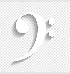 Cube sign white icon with vector