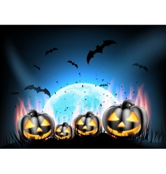 Happy Halloween party EPS 10 vector image vector image