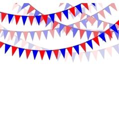Holiday ribbons vector image vector image