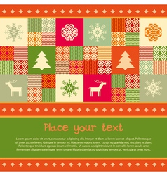 Christmas banner template vector