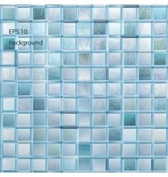 Grunge light mosaic background vector