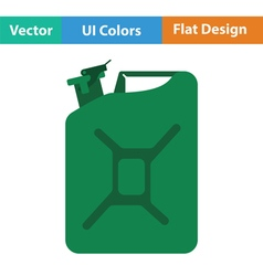 Fuel canister icon vector