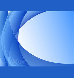 Background template with blue shades vector