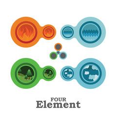 four element vector image