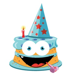 Funny Cake - male vector image vector image
