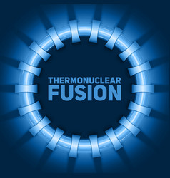 Abstract of thermonuclear fusion vector