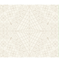 Vintage seamless monochrome geometrical pattern vector