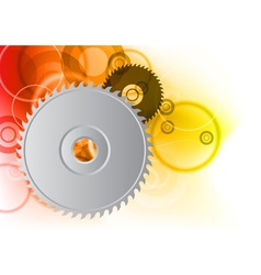 circular saw background vector image