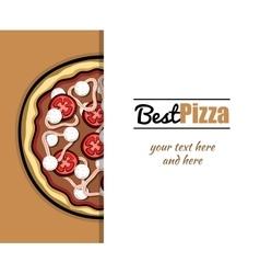 Menu For Pizzeria 4 vector image