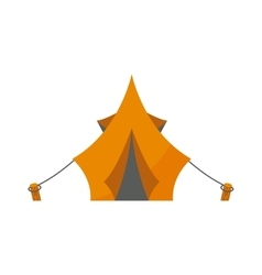 Outdoor tent vector image