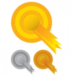 Rosette awards vector