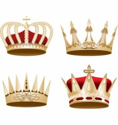 Ized crown vector