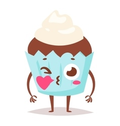Sweet emotion character vector