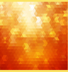 abstract orange colorful background vector image