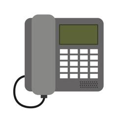 Digital phone isolated icon design vector