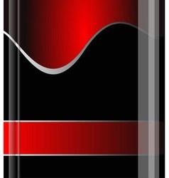 Red background grey line background design vector