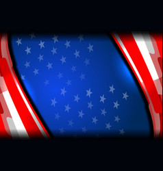 Flag usa backgrounds style vector