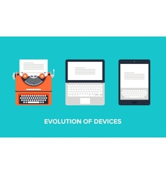 Evolution of devices vector
