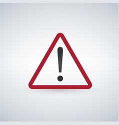 danger warning important information sign vector image
