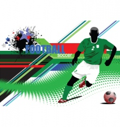 world cup poster vector image