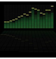 led analyzer vector image