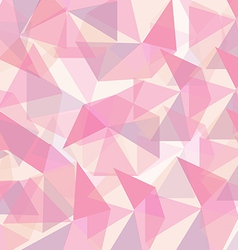 Abstract pink geometrical vector image