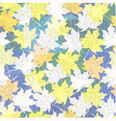 beautiful seamless pattern background with vector image vector image
