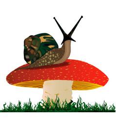 Rearing snail vector