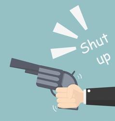 Shut up vector