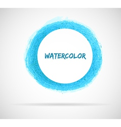 Watercolor design vector image vector image