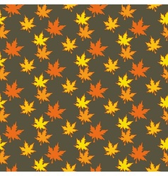 Colourful autumn leaves vector