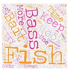Bass fishintips 1 text background wordcloud vector