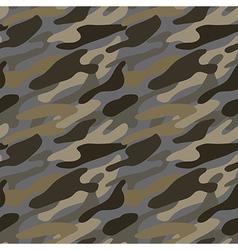 Seamless khaki pattern vector image