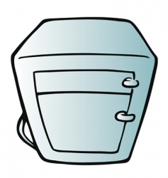 fridge vector image vector image