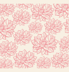 lotus pattern vector image