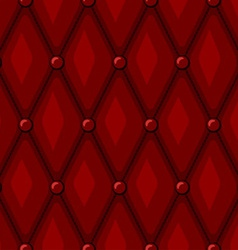 Luxury Red Leather vector image