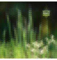 Retro landscape pattern of geometric shapes vector