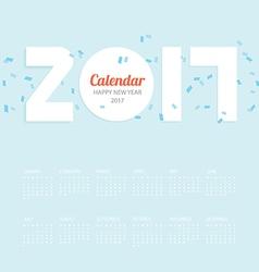 2017 calendar calendar design vector
