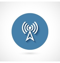 Wi-fi icon isolated vector