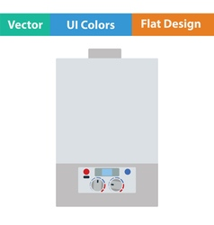 Flat Design Single energy vector image