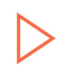 Arrow sign navigation icon pointer symbol vector