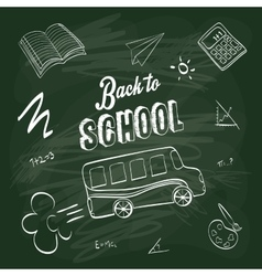 Back to school design Study icon Draw vector image vector image