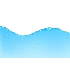 Background of opaque water vector image