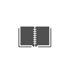 book simple icon education symbol vector image vector image