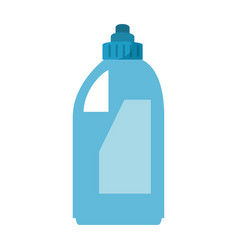 detergent bottle isolated icon vector image