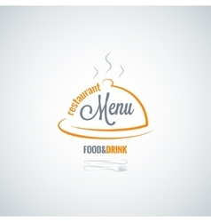 food and drink restaurant menu background vector image vector image
