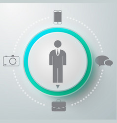 Male selector round composition vector