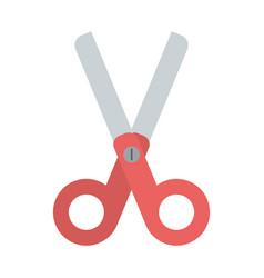 Sissor utensil isolated vector