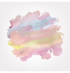 Watercolor background for your design vector image